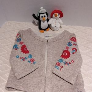 Genuine Kids embroidered cardigan